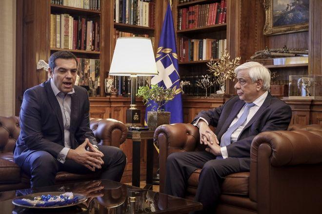 Συνάντηση του Προέδρου της Δημοκρατίας Προκόπη Παυλόπουλου με τον Πρωθυπουργό Αλέξη Τσίπρα, Αρχείο