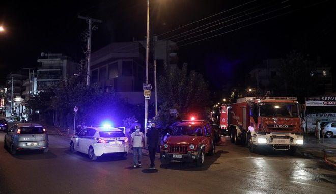 Φωτιά σε εστιατόριο στην Λεωφόρο Αμφιθέας