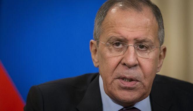 Ο υπουργός Εξωτερικών της Ρωσίας Σεργκέϊ Λαβρόφ