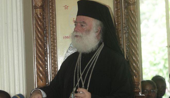 Ο πατριάρχης Αλεξανδρείας και πάσης Αφρικής Θεόδωρος