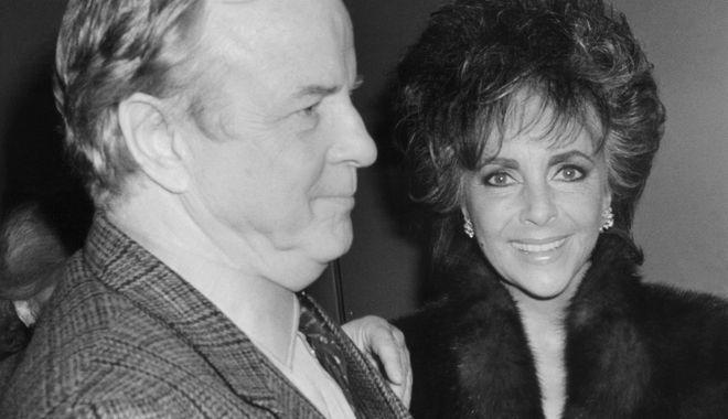 Ο Φράνκο Τζεφιρέλλι μαζί με την Ελίζαμπεθ Τέιλορ