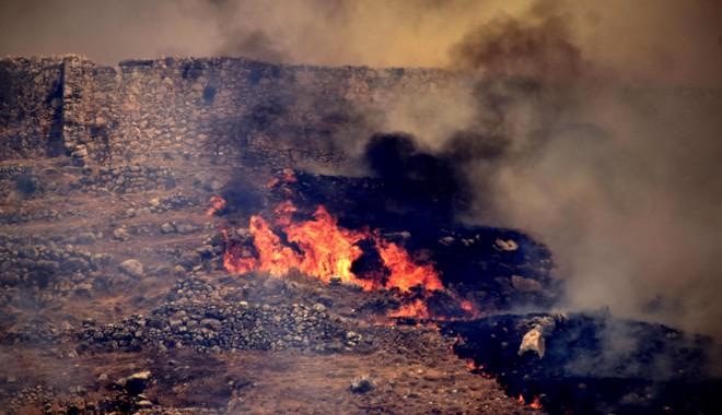 Η φωτιά πέρασε από τον αρχαιολογικό χώρο των Μυκηνών. Οι πέτρες αντέχουν. Αυτό, όμως, δεν αρκεί
