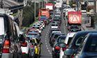 Αυτοκίνητα σε λεωφόρο της Αθήνας
