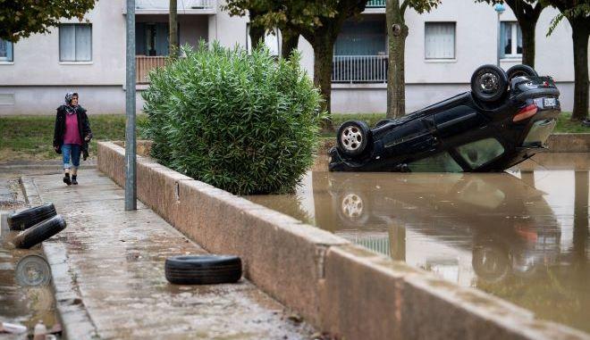 Πλημμύρες στη Γαλλία (φωτογραφία αρχείου)