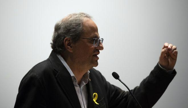 Ο Καταλανός αυτονομιστής ηγέτης Κιμ Τόρα