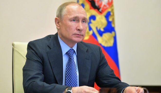 Ο Βλαντιμίρ Πούτιν