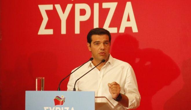 Φωτό αρχείου: Ομιλία Αλέξη Τσίπρα