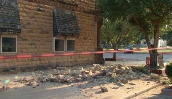 Ισχυρός σεισμός στην Οκλαχόμα. Αισθητός σε έξι ακόμα πολιτείες
