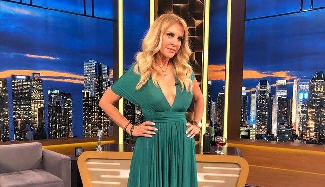 Η Μαίρη Μηλιαρέση στην εκπομπή The 2Night Show