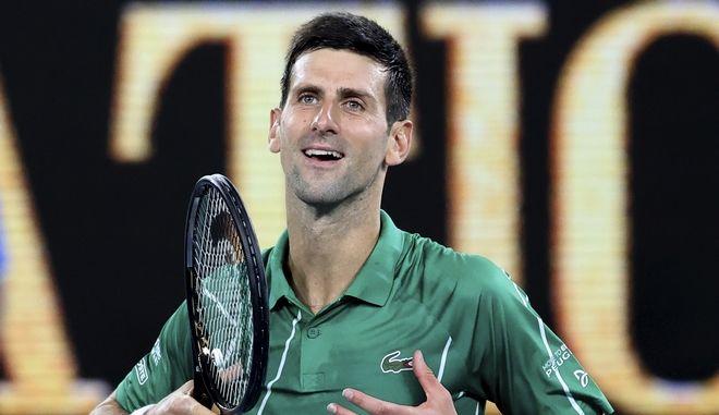 Ο Νόβακ Τζόκοβιτς στο Australian Open