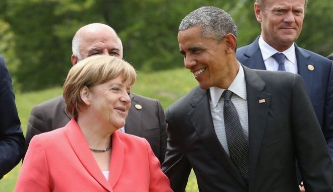 Μέρκελ και Ομπάμα δεσμεύονται να συνεργαστούν στο θέμα του προσφυγικού