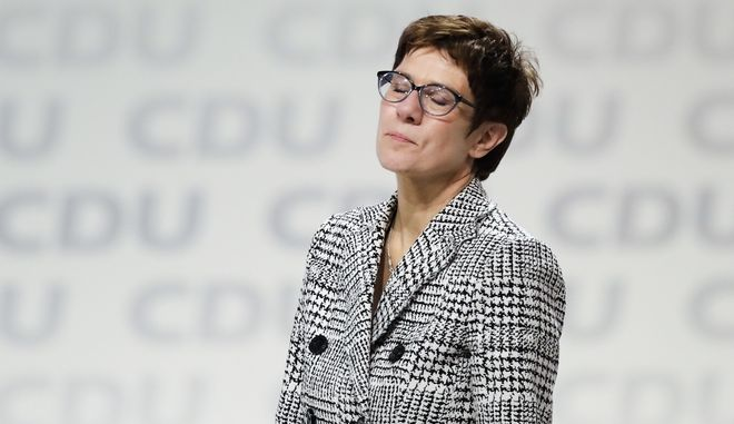 H διάδοχος της Άνγκελα Μέρκελ στην ηγεσία του CDU, Ανεγκρέτ Κραμπ-Καρενμπάουερ