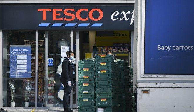 Τα σούπερ μάρκετ Tesco στη Βρετανία