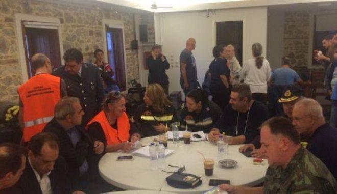 Σαμοθράκη: Σύσκεψη για τις καταστροφές από την κακοκαιρία