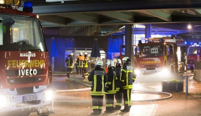 40 τραυματίες από φωτιά στην πόλη Ζίγκμπουργκ