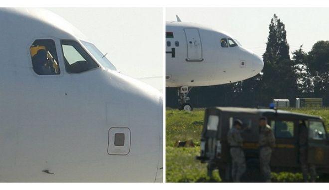 Μάλτα: Παραδόθηκαν οι αεροπειρατές