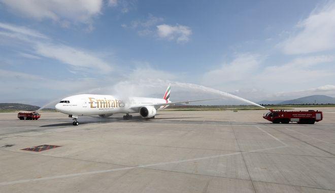Emirates: 160.000 επιβάτες μετέφερε στον πρώτο χρόνο της πτήσης Αθήνα - Νέα Υόρκη