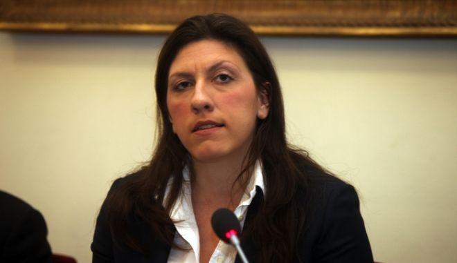 ΑΘΗΝΑ-Συνέντευξη Τύπου της Κ.Ο του ΣΥΡΙΖΑ για την προανακριτική επιτροπή, στη Βουλή// ΣΤΗ ΦΩΤΟΓΡΑΦΙΑ Η ΒΟΥΛΕΥΤΗΣ ΖΩΗ ΚΩΝΣΤΑΝΤΟΠΟΥΛΟΥ.(EUROKINISSI)