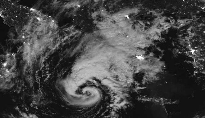 Ο κυκλώνας Ζορμπάς όπως τον φωτογράφισε η NASA