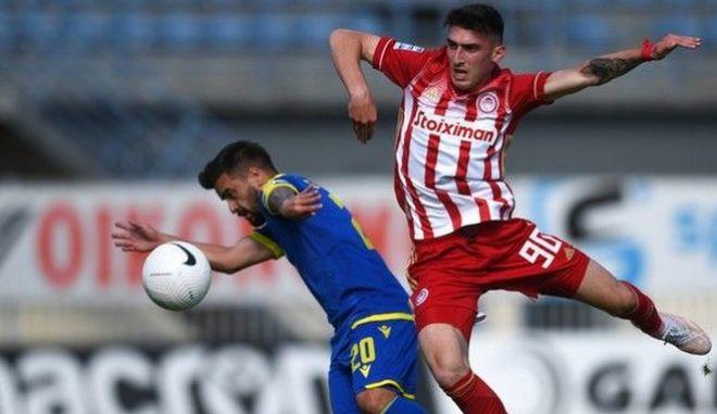 Αστέρας - Ολυμπιακός 0-0: Λευκή ισοπαλία με τους μικρούς
