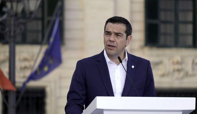 Ο Αλέξης Τσίπρας στην 6η Σύνοδο χωρών του Νότου που διεξάγεται στη Μάλτα
