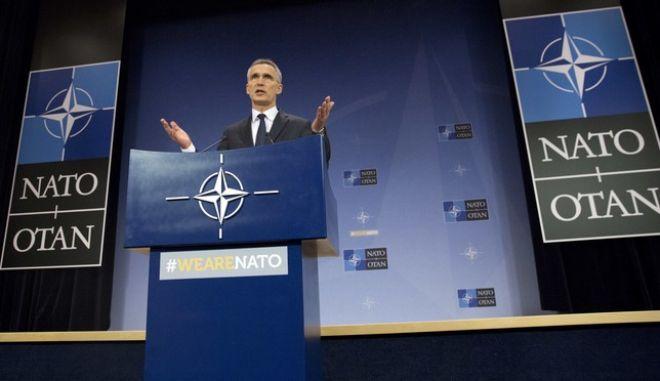Ο Γραμματέας του NATO Jens Stoltenberg