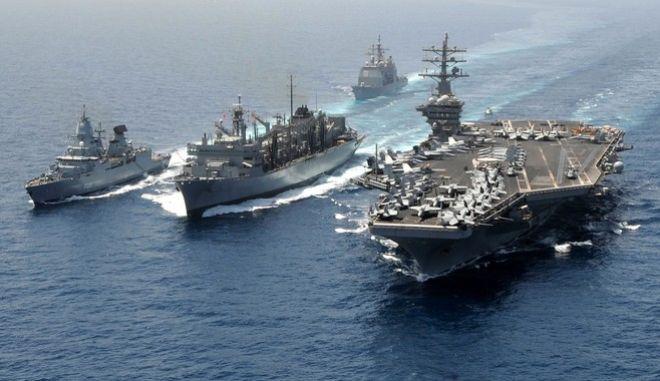Το Λονδίνο στέλνει τρία πολεμικά πλοία στο Αιγαίο