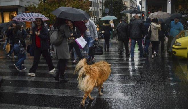 Κακοκαιρία στην Αθήνα. Τετάρτη 8 Νοεμβρίου 2017(EUROKINISSI//Λυδία Σιώρη)