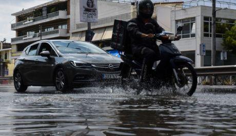 Βροχή στην Αθήνα (ΦΩΤΟ Αρχείου)