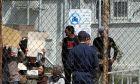 Στιγμιότυπο από το  κέντρο κράτησης μεταναστών στην Μόρια, Φωτογραφία Αρχείου