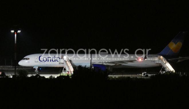 Συναγερμός στα Χανιά: Προειδοποίηση για βόμβα σε πολιτικό αεροσκάφος