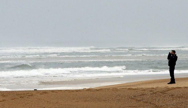 Έρευνες σε γαλλική παραλία για τον εντοπισμό αγνοούμενων