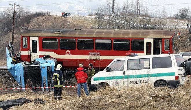Δυστύχημα με τρένο στη Σλοβακία (φωτογραφία αρχείου)