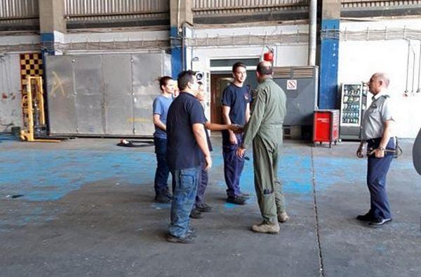 Εύβοια: Πτήση Αρχηγού ΓΕΑ με Αεροσκάφος CL-215 στην κατάσβεση