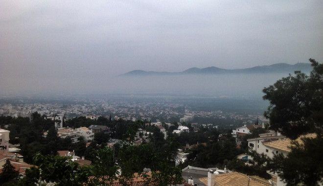 Στιγμιότυπο από το λόφο μεταξύ Πολιτείας και Νέας Ερυθραίας