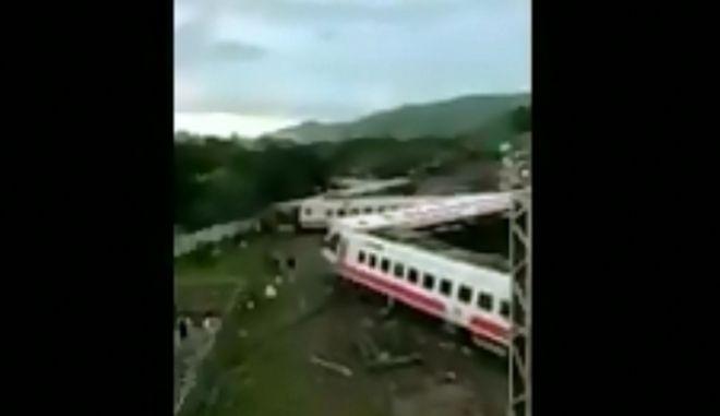 Φωτογραφία από το ατύχημα