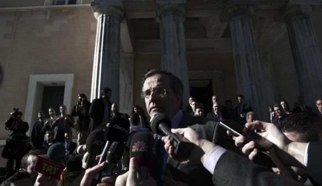 Atmospher from the second parliamentary voting for the election of the new Greek President, in Athens, Dec. 23, 2014 /            ,  , 23 , 2014