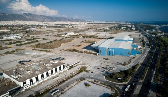 Εικόνα από το παλιό δυτικό αεροδρόμιο στο Ελληνικό