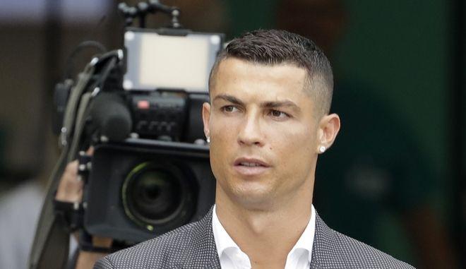 Ο Πορτογάλος άσος του ποδοσφαίρου Κριστιάνο Ρονάλντο