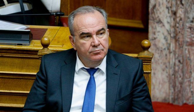 Ο υφυπουργός Ανάπτυξης, Νίκος Παπαθανάσης