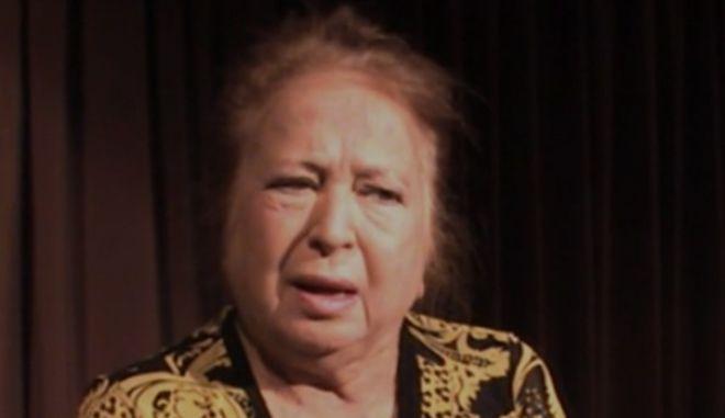 Πέθανε η σκηνοθέτης και ηθοποιός Έλλη Βοζικιάδου