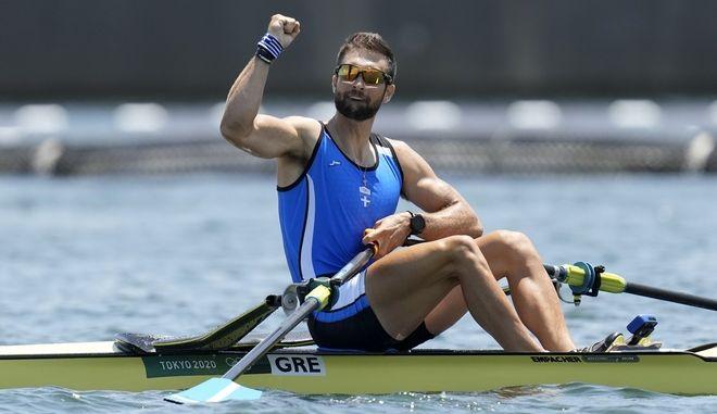 Ο Χρυσός Ολυμπιονίκης Στέφανος Ντούσκος