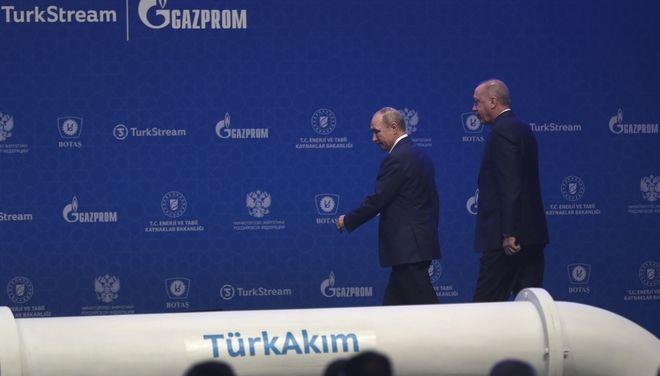 Πούτιν και Ερντογάν