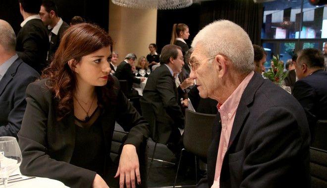 Κατερίνα Νοτοπούλου - Γιάννης Μπουτάρης σε παλαιότερη συνάντησή τους