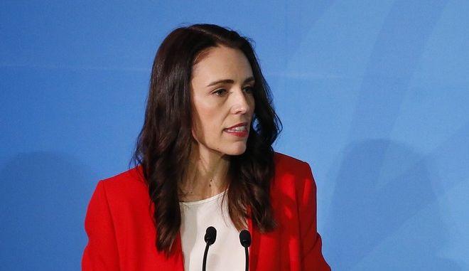 Η Νεοζηλανδή πρωθυπουργός Τζασίντα Αρντέρν