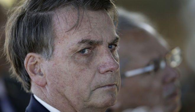 Ο πρόεδρος της Βραζιλίας, Μπολσονάρο