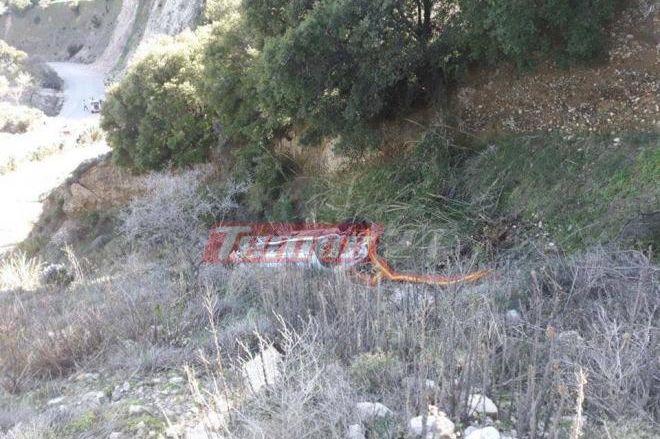Ατύχημα στο 40ο Ράλι Αχαιός – Σε χαράδρα οδηγός
