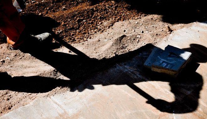 Εργάτες της ΕΥΔΑΠ (Φωτογραφία αρχείου)