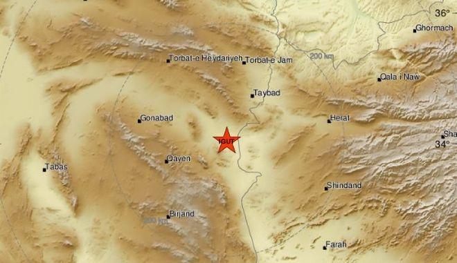 Σεισμός 5,5 Ρίχτερ στο Ιράν