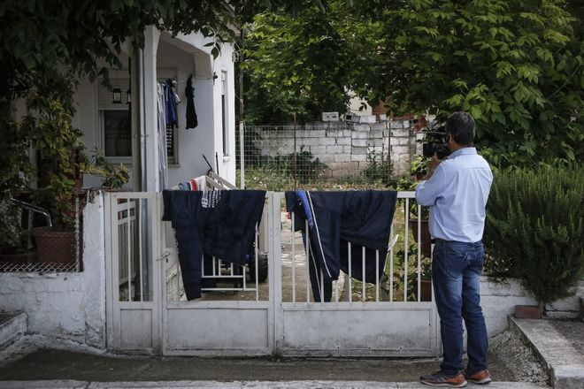 Το σπίτι στο Μεγαλοχώρι Τρικάλων όπου το απόγευμα της Δευτέρας 21 Μαΐου 2018, 49χρονος μαχαίρωσε μέχρι θανάτου την νοσηλεύτρια σύζυγό του, και μητέρα 3 παιδιών